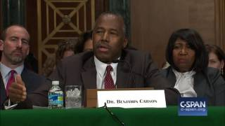 HUD Secretary Nominee Dr. Ben Carson Opening Statement (C-SPAN)