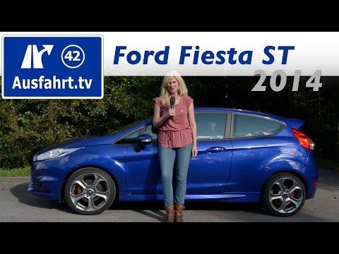 2014 Ford Fiesta ST - Fahrbericht der Probefahrt / Test / Review (German)