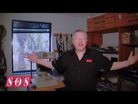 SOS visit BOP Recording Studios