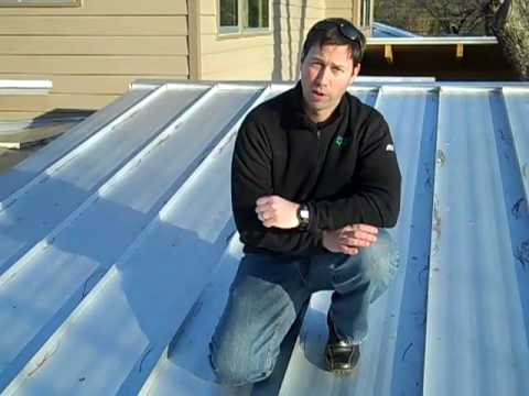 Galvalume Metal Roof Review Youtube