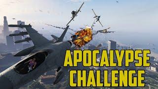 GTA 5 Apocalypse Mod! Kamikaze Planes, Apocalypse Mod! Mt Chilliad Jump.