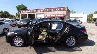 USED CARS MELBOURNE FLORIDA 2012 HONDA ACCORD EX-L