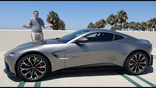 The 2019 Aston Martin Vantage Is a $185,000 True Sports Car