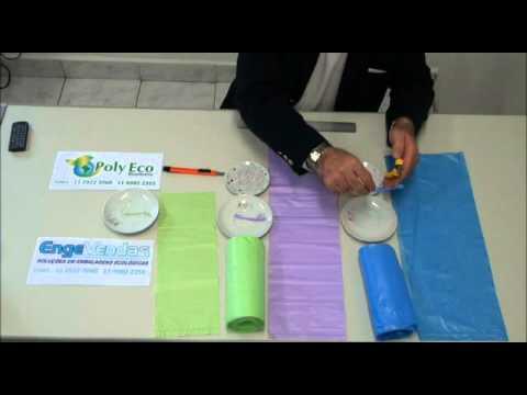 Sacos para Lixo Biodegradavel Poly Eco