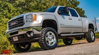 2011-2018 GM HD 3.5-inch Bolt-On Suspension Lift Kit by Rough Country