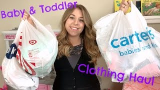 CLOTHING HAUL I BABY AND TODDLER PART ONE