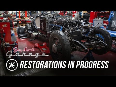 Jay's Restoration Projects in Progress - Jay Leno's Garage