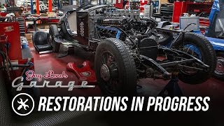 Jay's Restoration Projects in Progress - Jay Leno's Garage