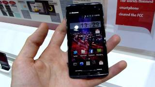 Fujitsu Arrow F-07D - The world's thinnest smartphone