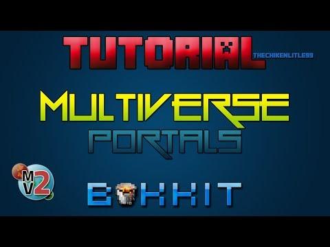 Minecraft - Plugin Multiverse Portals [ Tutorial Bukkit en Español ] Crea portales entre mundos.