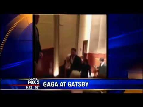 Lady Gaga & Taylor Kinney attended The Great Gatsby screening in NY