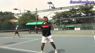 HLV Trương Quang Vũ hướng dẫn Chỉnh sửa động tác Tennis Phần 6