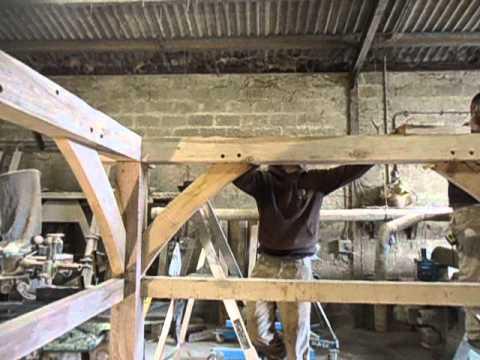 English Oak Designs Log Store Kit Assembly Oak Porches