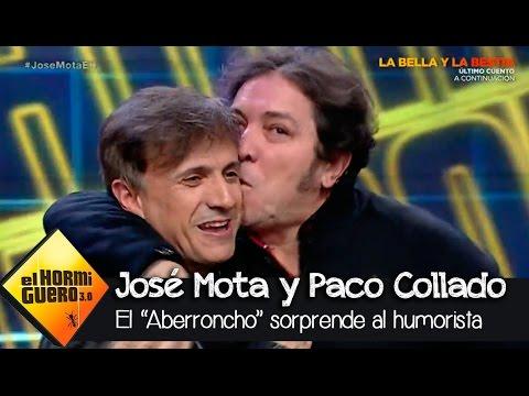 Paco Collado 'El Aberroncho' sorprende a José Mota