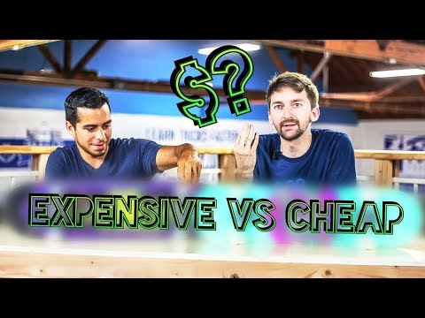 CHEAP VS EXPENSIVE SKATE TEST | SKATE EXPERIMENTS EP. 5