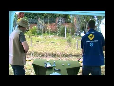 Como fazer uma prova de Silhueta Metálica para carabinas de pressão