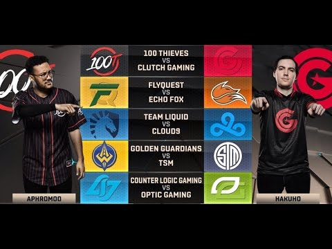NA LCS Highlights ALL GAMES Week 9 Day 1  W9D1 Spring 2018