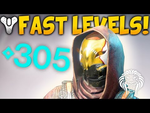Destiny 2: HOW TO LEVEL UP FAST! Best Activities Towards 350 Power Levels & Important Tips