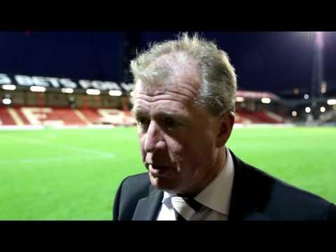 BRENTFORD V DERBY COUNTY | Steve McClaren Post-Match