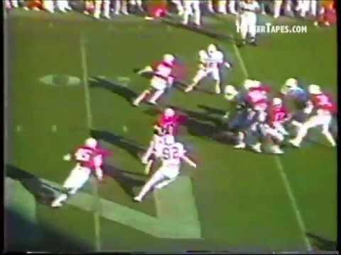 1984 Nebraska vs Oklahoma State Shane Swanson 49-yd Punt return with bonus radio audio