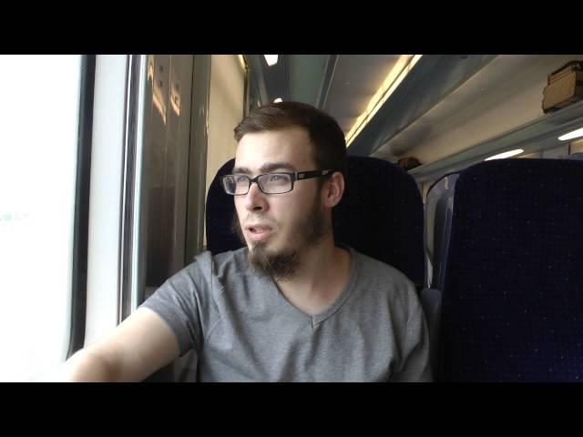 Dans le train de Marrakech a  Casablanca