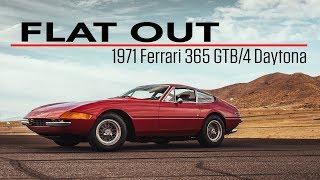1971 Ferrari 365 GTB/4 Daytona roars around Streets of Willow Springs   Flat Out - Ep 4