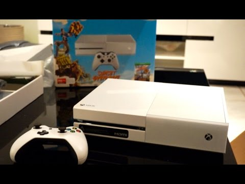 White Xbox One Unboxing