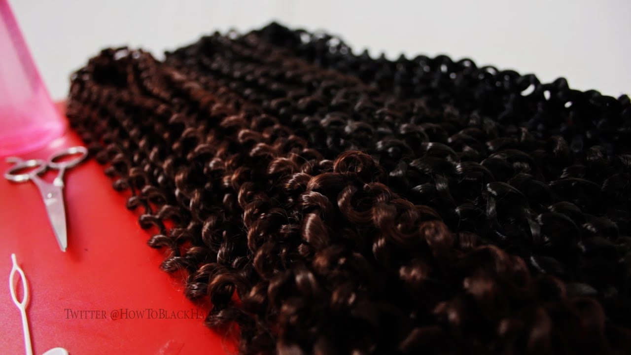 How To Do Latch Hook Crochet Braids Protective Style
