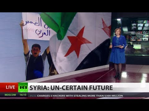 Peace Price: Syrian rebels to negotiate once arms received, Assad ousted