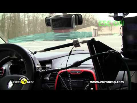 Euro NCAP | Renault CAPTUR | 2013 | ESC Краш-тест