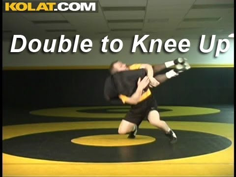 Double to Knee Up Finish KOLAT.COM Wrestling Techniques Moves Instruction Image 1