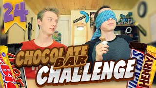 SKYvsFIN | EP 24 | Chocolate Bar Challenge! (Taste Test)