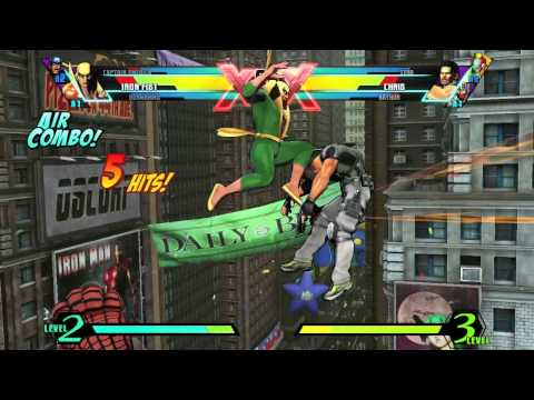 Ultimate Marvel vs. Capcom 3: Iron Fist