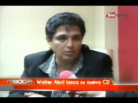 Walter Abril lanza su nuevo CD