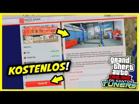 🚨 WERKSTATT KOSTENLOS bekommen - Los Santos Tuners DLC - GTA 5 Online 🚨