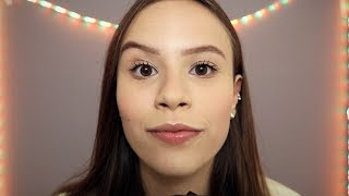 ASMR TUC TUC, MOUTH SOUNDS, CAMERA TOUCHING E HAND MOVEMENTS