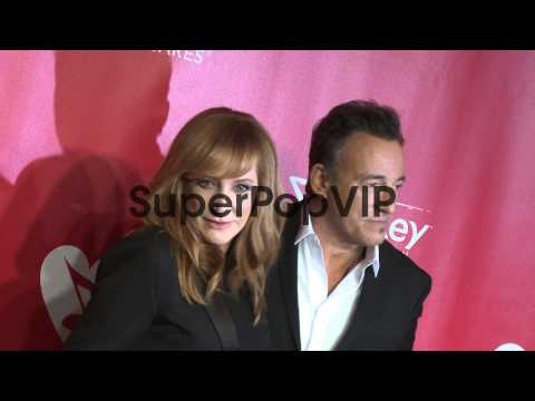 Bruce Springsteen, Patti Scialfa at MusiCares 2013 Person...