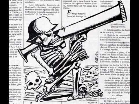2 de octubre 1968 movimiento estudiantil versos calaveras caricaturas de soto el metiche