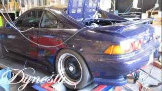 95 Toyota MR2 Dyno with GT2871R Turbo 405WHP