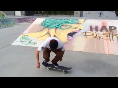 Jonny Giger - Fakie Tre Triple Flip