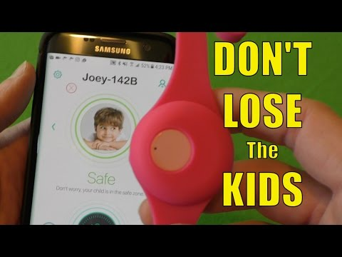 Joey Tag Review, A Child Safety Wearable Tracker With No Monthly Fees