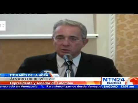 Álvaro Uribe: Argentina es esperanza, Colombia preocupación y Venezuela angustia