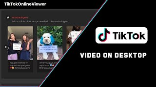 Online Tik Tok Viewer to watch and download TikTok videos on PC