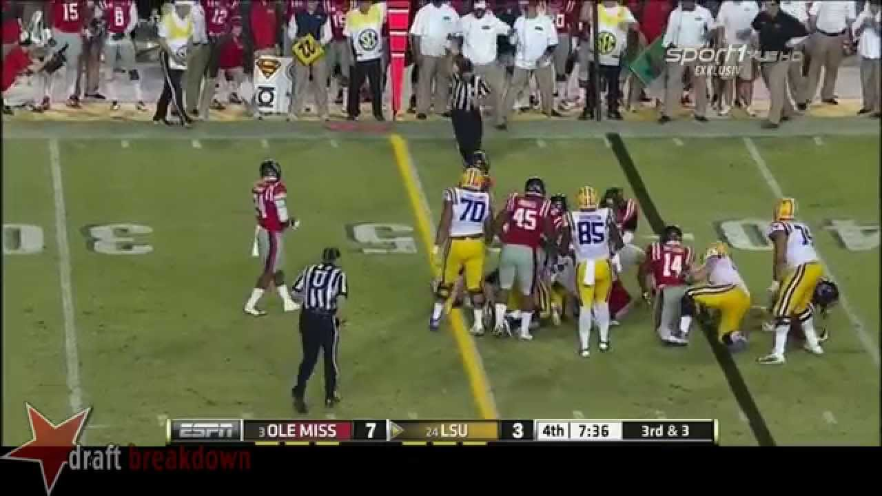 La'el Collins vs Ole Miss (2014)