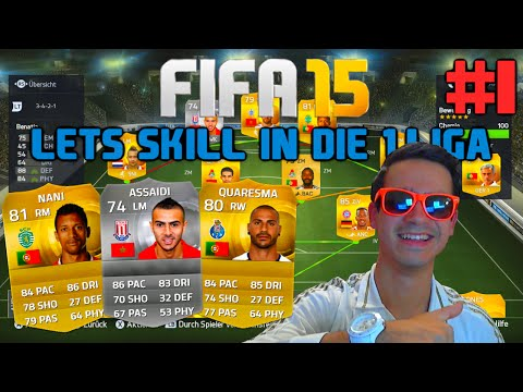 FIFA 15 : Ultimate Team - Let's Skill in die 1. Liga #1 [FACECAM] - LETS DO THIS !! HD
