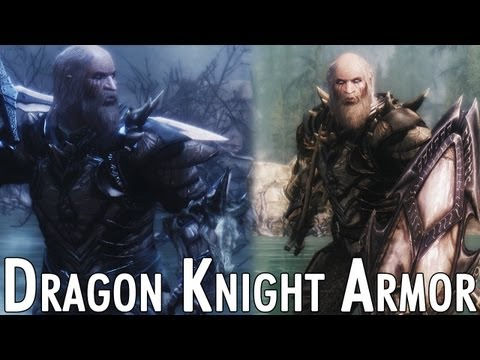 Skyrim Mod Feature: Dragon Knight Armor