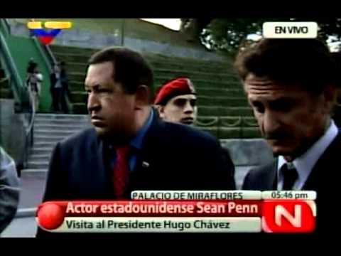 Sean Penn le responde a los periodistas