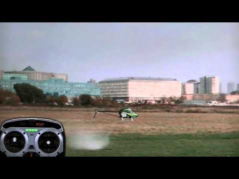 Rc-heli flight lesson 9... Piro flips and variations (freddys flight academy)