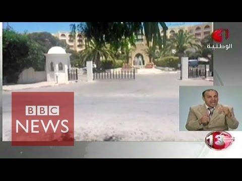 Tunisia beach attack: 'People screaming & running' says eyewitness - BBC News