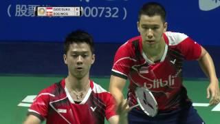Thaihot China Open 2016   Badminton F M3-MD   Gid/Suk vs Boe/Mog